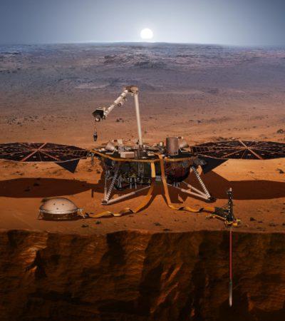 5. Mai 2018 – 12:30 Uhr – Start Mars Insight