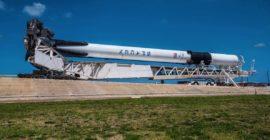 11. Mai 2018 21:50 Uhr – Erstart Falcon 9 Block 5