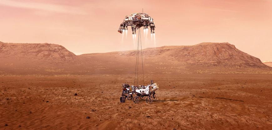 Livestream: Landung auf dem Mars vom Rover Perseverance