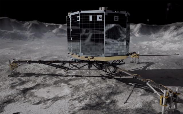 Landung auf dem Komet 67P/Tschurjumow-Gerasimenko