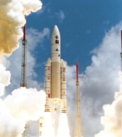 Ariane V 199 Hispasat Startversuch 1