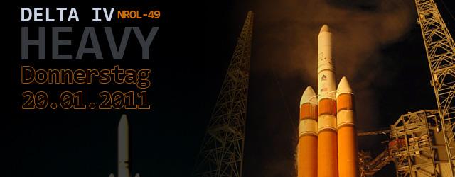 Volles Programm. Dann übertragen wir live den Start von der Delta IV Heavy mit dem Spionagesat NROL-49. Der wird übrigens der erste Start der Delta IV Heavy von Vandenberg, […]