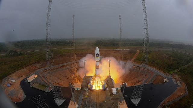 Video vom ersten Start der Sojus aus Kourou mit IOV Galileo Satelliten für das europäische Navigationssystem. Viel Spass! This text will be replacedVideo vom ersten Start der Sojus aus […]