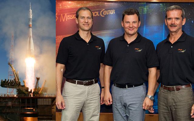 Die ISS bekommt kurz vor Weihnachten nochmal Verstärkung. Roman Jurjewitsch Romanenko, Thomas Henry Marshburn und Chris Austin Hadfield starten auf einer Sojus Rakete. Wir informieren wie üblich umfassen über […]