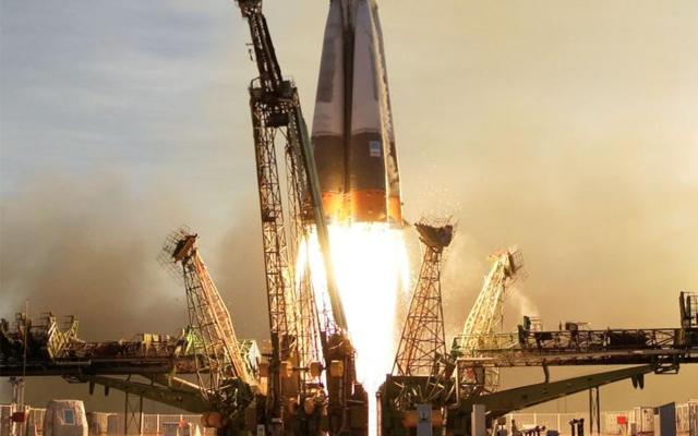Unsere Aufzeichnung vom Rekordflug der Sojus TMA-08M. In nur 6 Stunden zur ISS.Unsere Aufzeichnung vom Rekordflug der Sojus TMA-08M. In nur 6 Stunden zur ISS.
